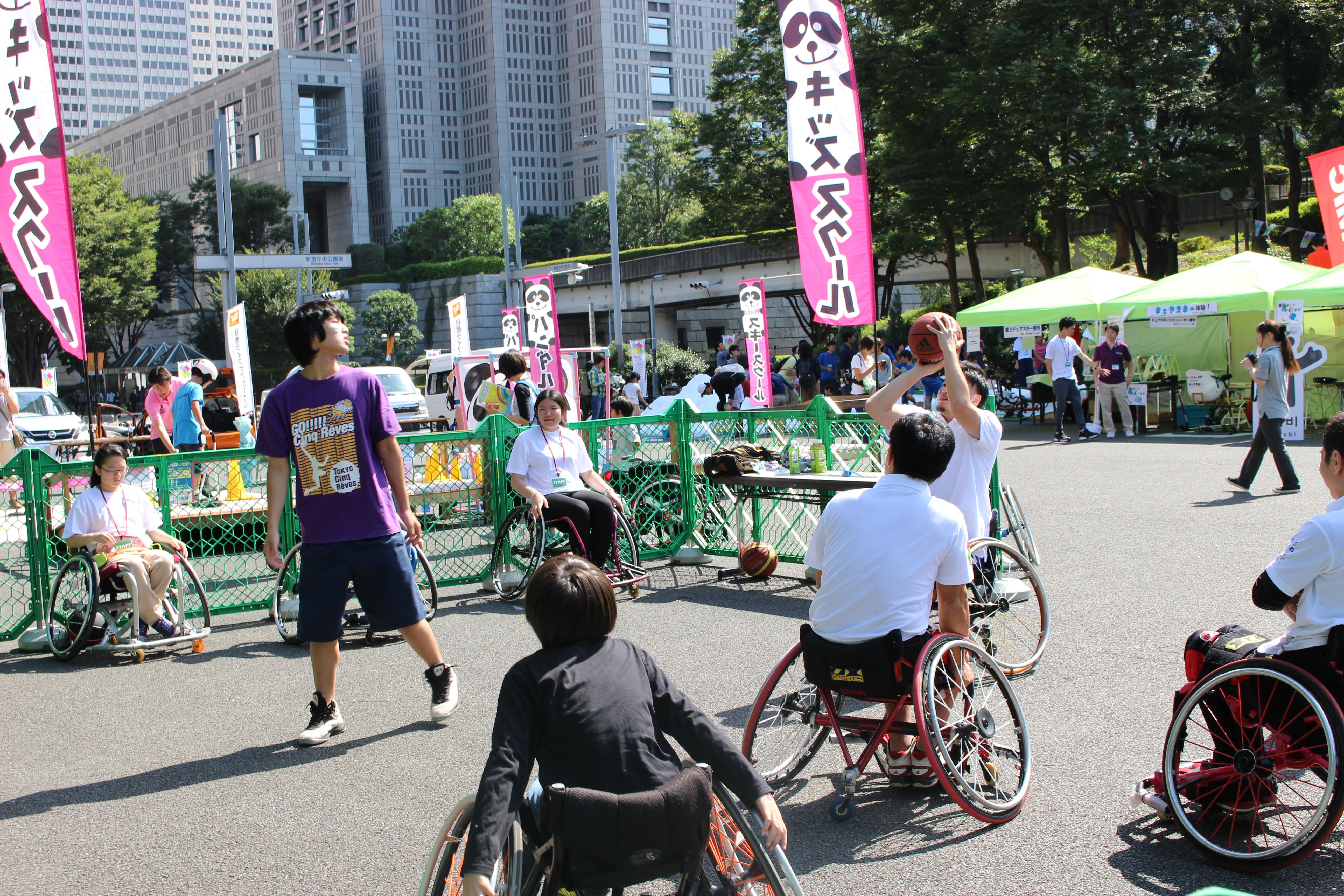 車椅子バスケットボール