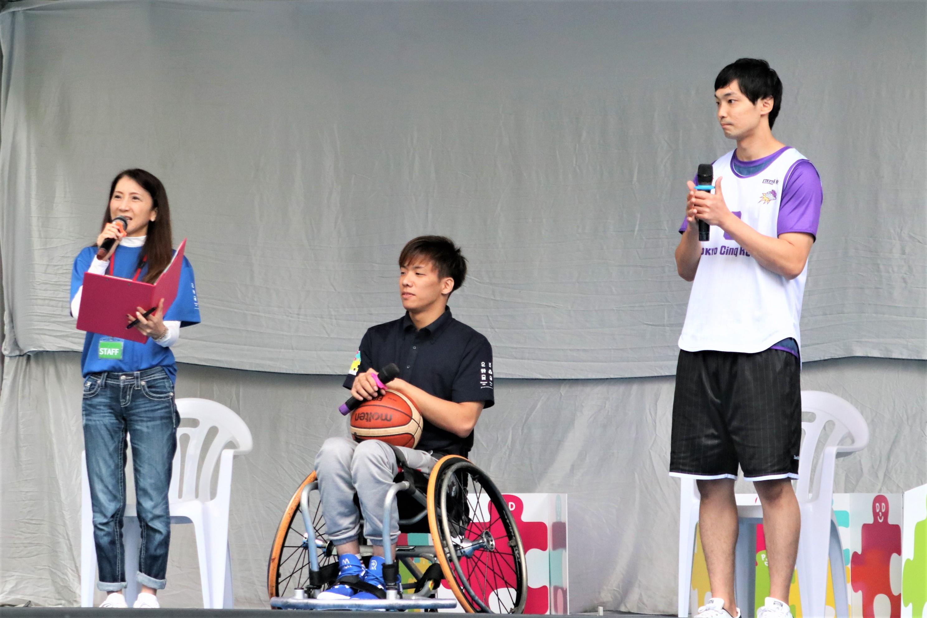 バスケトークショー