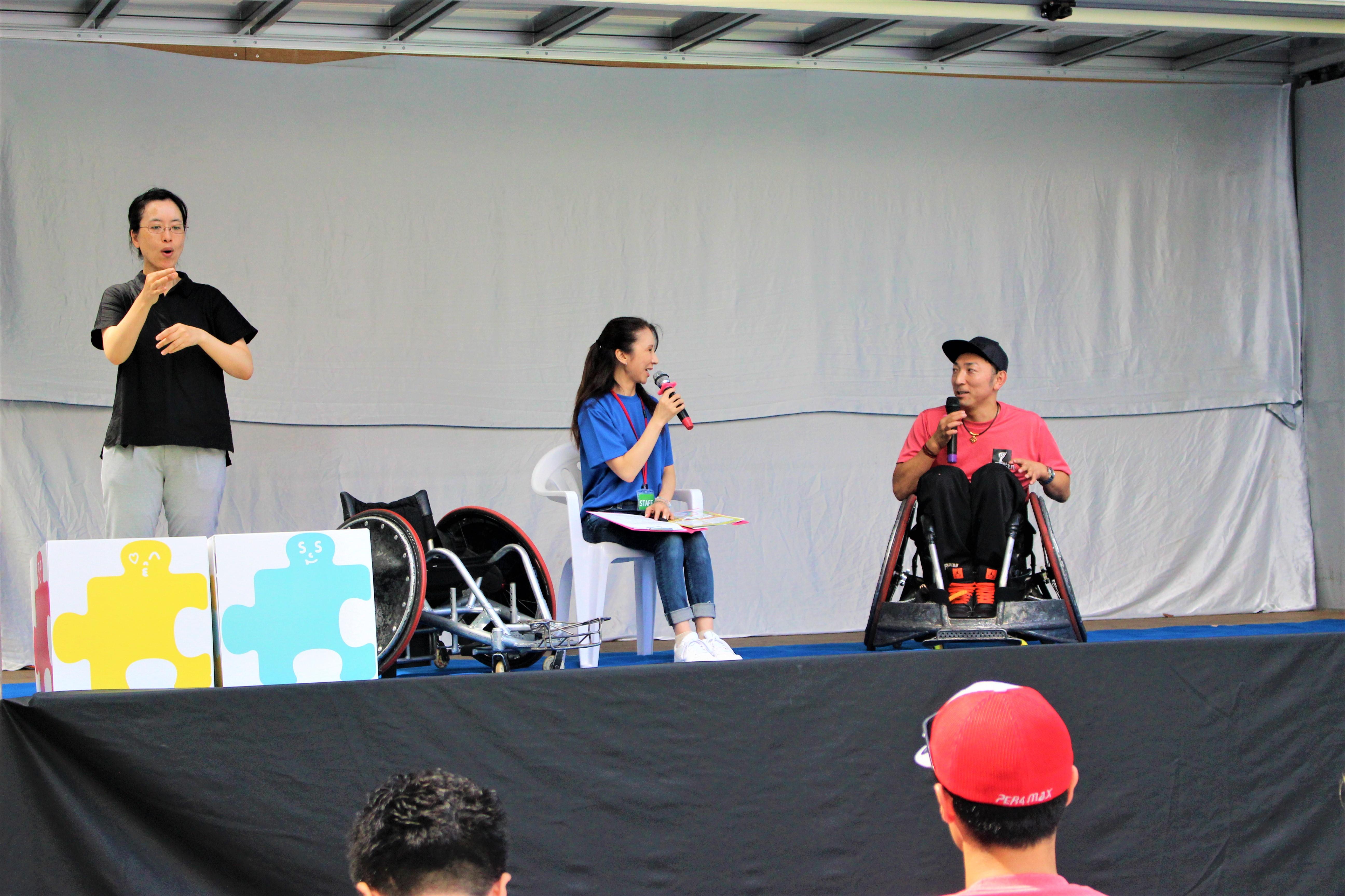 車椅子ラグビー 菅野選手-2